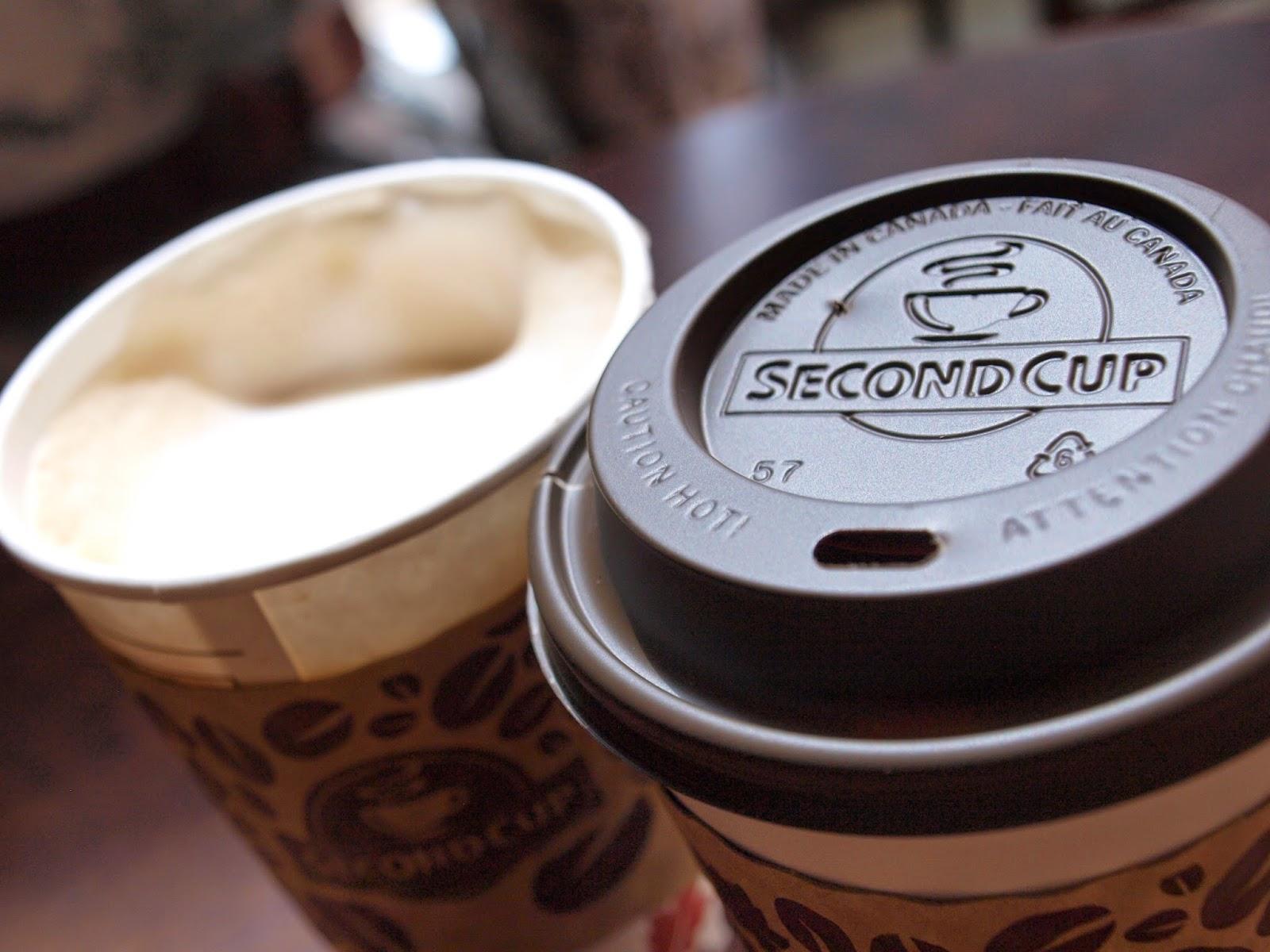 カナダのSECOND CUP