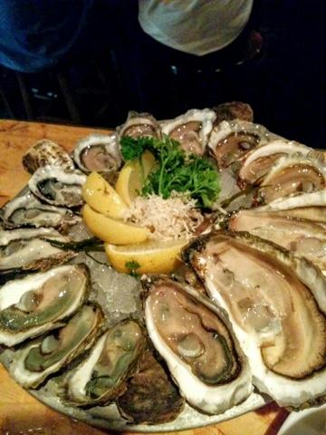 トロントの牡蠣レストラン