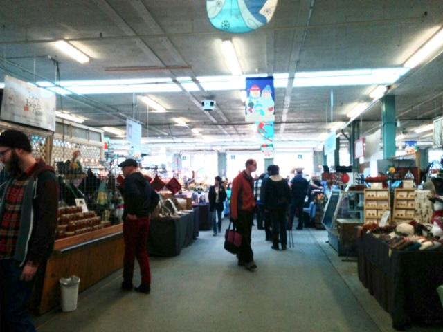 エドモントンのファーマーズマーケット