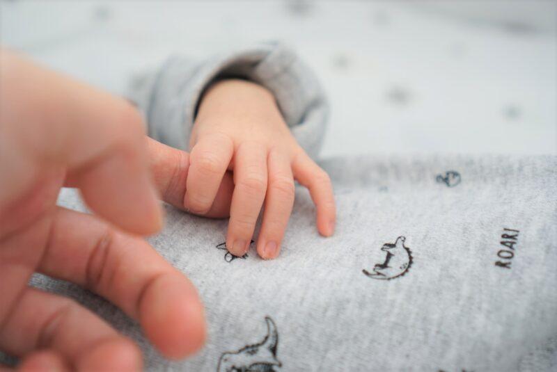 赤ちゃんの手の写真