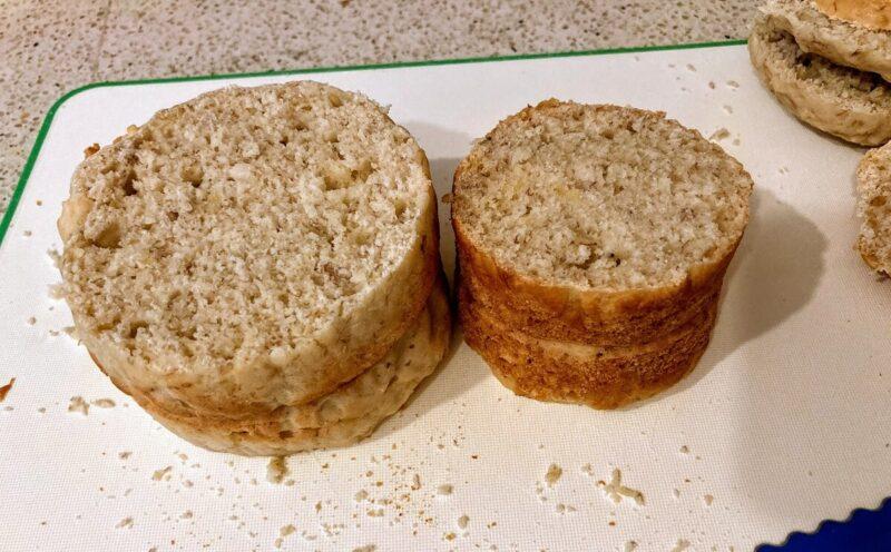 超ミニスマッシュケーキ作り