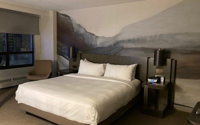 カナダのカルガリーマリオットホテル