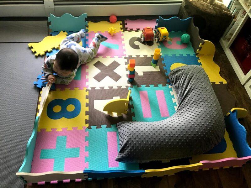 赤ちゃん用プレイマット