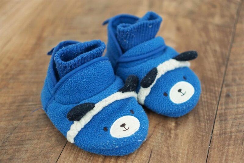 子どもの初めての靴